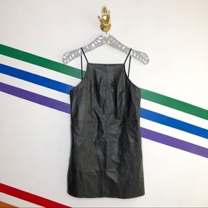 NEW Urban Outfitters faux leather dress